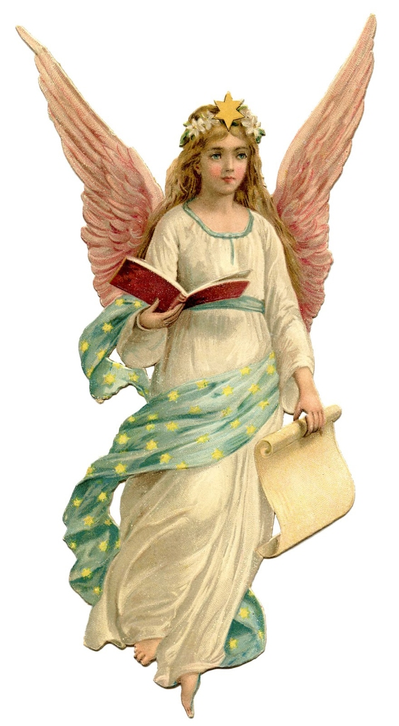 Angel from Graphics Fairy for International Editing Services